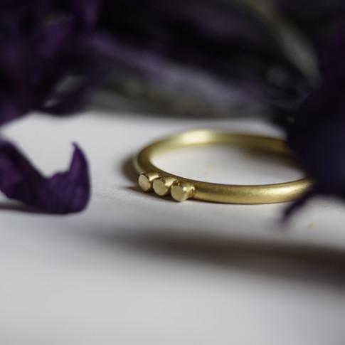 Ring aus 750/000 Gelbgold