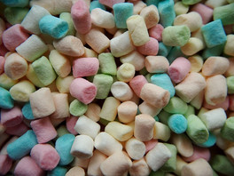 I went to the special ed. room because I stunk at math, but I stayed for the marshmallows.