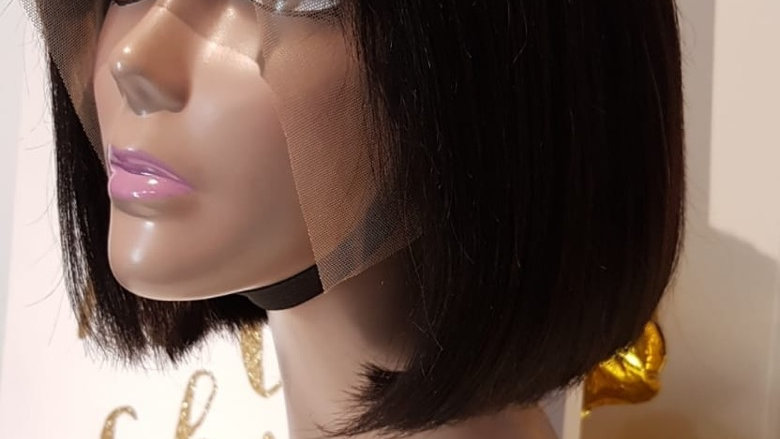 Perruque lace frontal «bob»