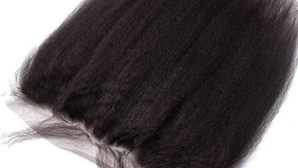 LACE FRONTAL AFRO kinky straight