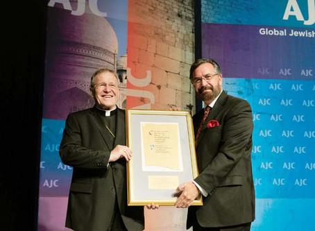 The Isaiah Interreligious Award to  Cardinal Walter Casper