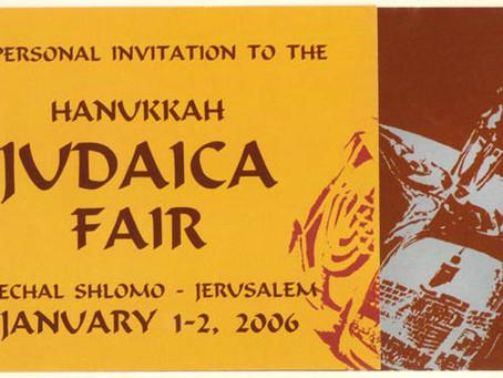 Hanukkah Judaica Fair