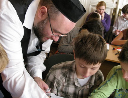 Workshop for Jewish school students in Moscow