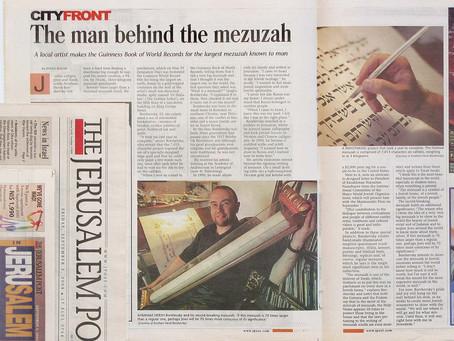 The man behind the mezuzah