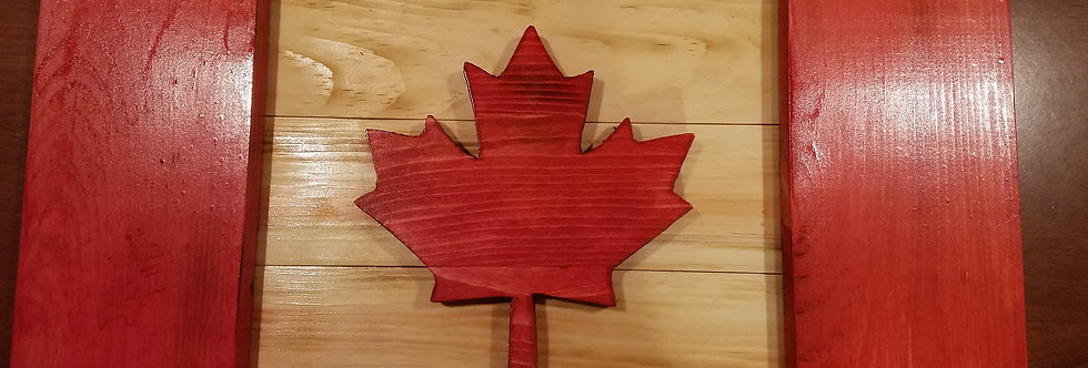 3D Canadian Flag