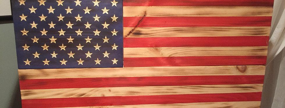 American Rustic Flag