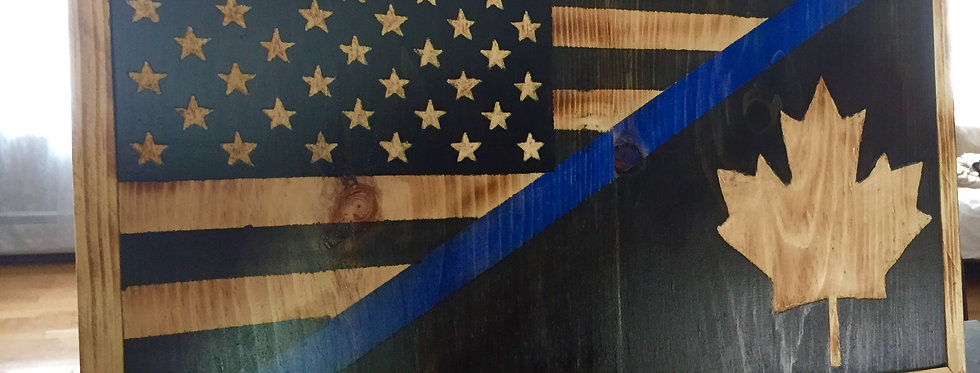 Canadian/American Thin Blue Line