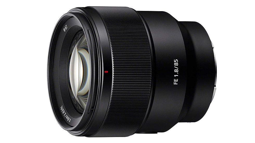 Sony FE 85mm f/1.8 Lens E-Mount Full-Frame SEL85F18/2