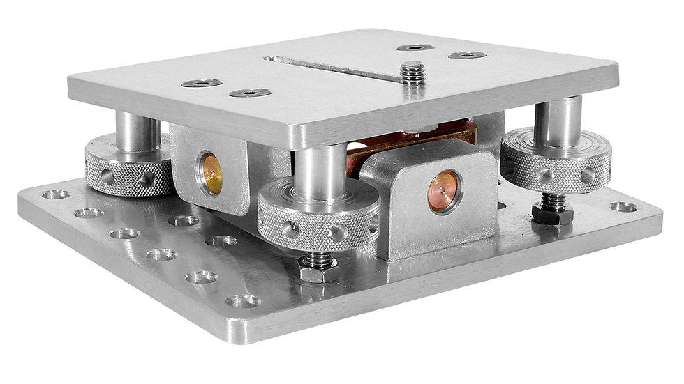 Rental Los Angeles camera level adjustable mount adapter Mitchel modern angled rotating 4 way mini small compact