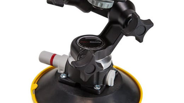 Treefort Los Angles Rental car mount suction auto rotating adjustable spring pump