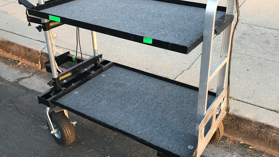 Treefort Los Angles Rental equipment cart production ready modified
