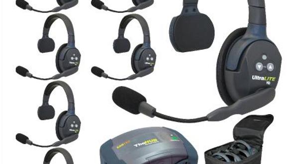 eartec, eartech, wireless, headset, handsfree, hands, free, comms, HUB7S