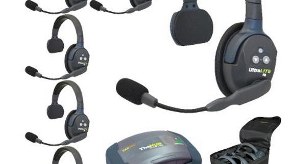 eartec, eartech, wireless, headset, handsfree, hands, free, comms, HUB6S