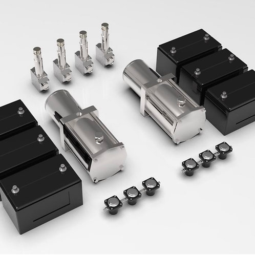 1:16 Hydraulic Pumps and Battery set (dumps and solonoids included)