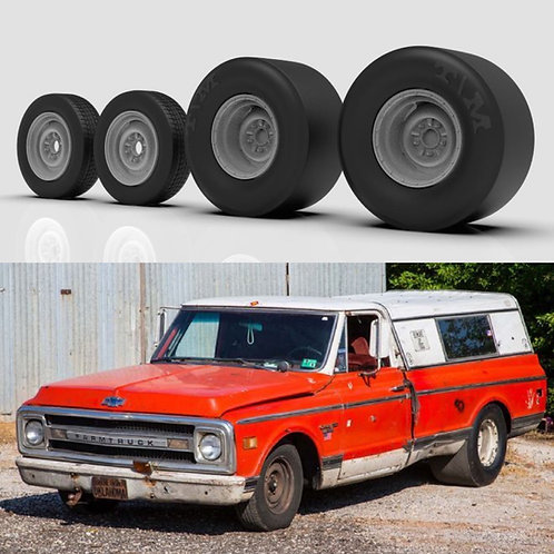1:8 FarmTruck wheels