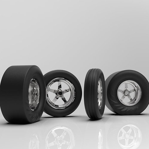 1:25 Weld 71S with Wrinkle Tire option