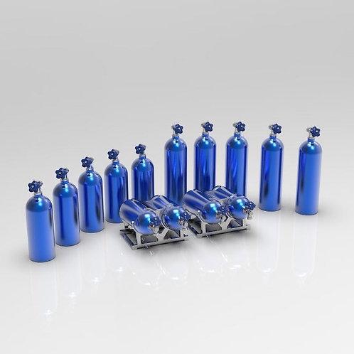1:18 NOS bottle set