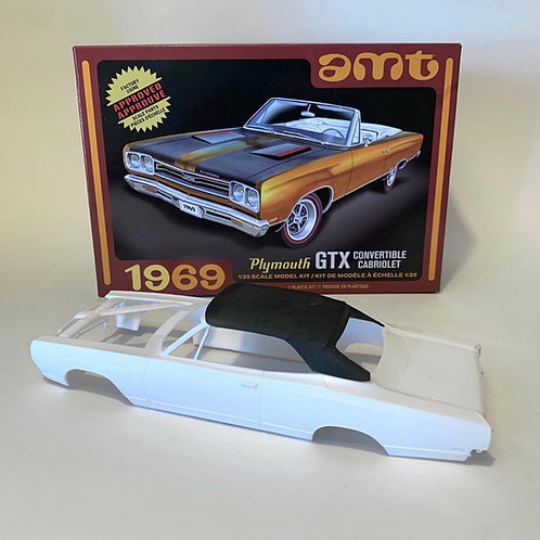 1:25 AMT Plymouth GTX convertible Top