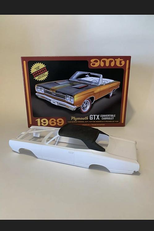 1:25 69 Plymouth GTX convertible Top