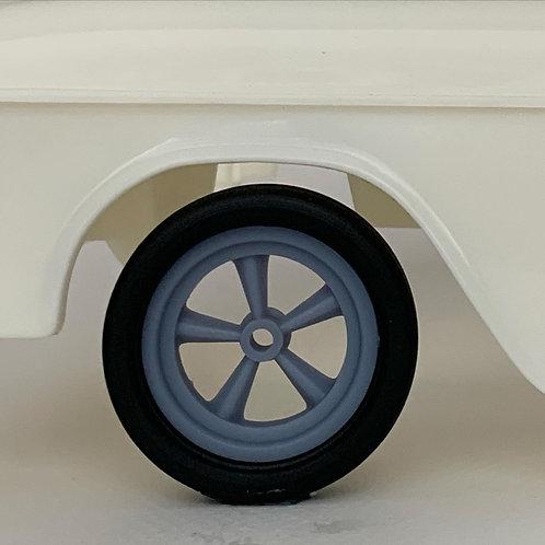 1:12 Drag Racing Wheel Wrinkle Tire Setup