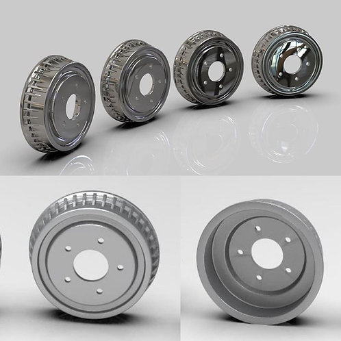 1:25 Stock Chevy drums