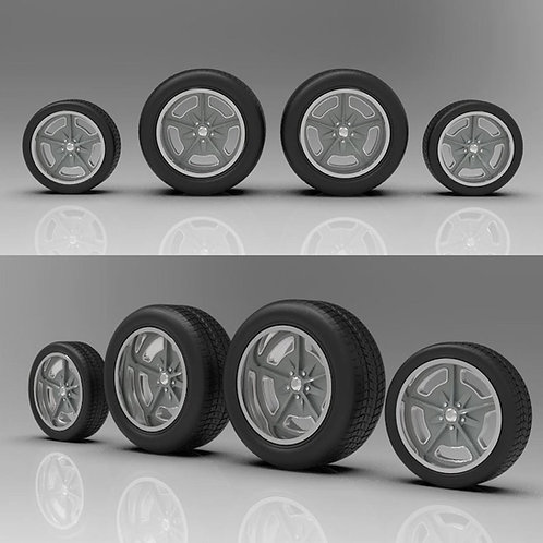 """1:16 """"Speedway"""" 18"""" and 20"""" with Big and Little Tires"""