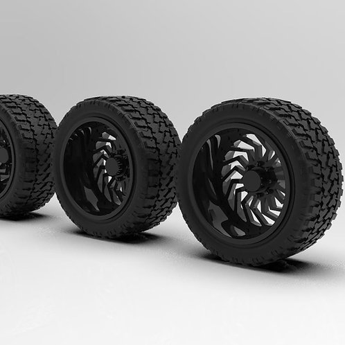 1:64 Lynx Wheels
