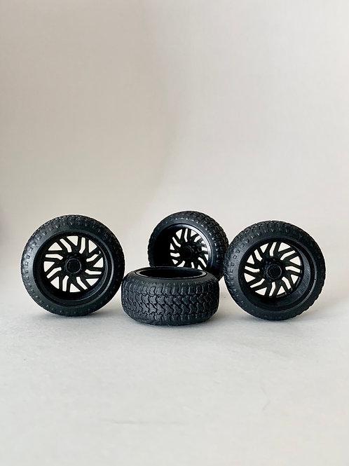 """1:25 26s """"Titan"""" Wheels (Black or Chromed)"""
