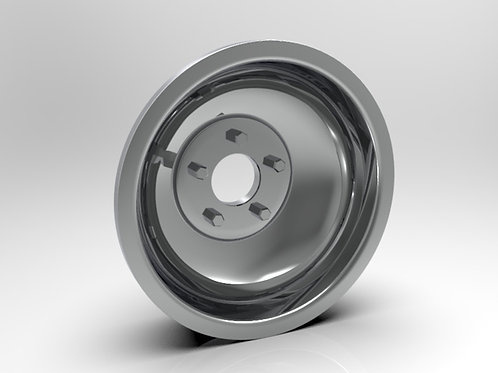 1:8 Rear Indy Solid Style Wheel