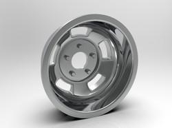 1-8 Rear American Standard Racing Wheel