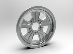 1-8 Front Radir Style Five Spoke Wheel