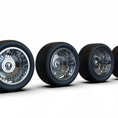 1:25 Regal Wheel Set 17 x 11