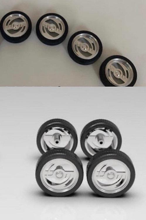 "1:25 ""Insanity""Mini Truck Wheels (set of four)"