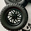 "Thumbnail: 164 22s ""Titan"" Wheels and 35"" standard or Low Profile tires (Black or Chromed)"