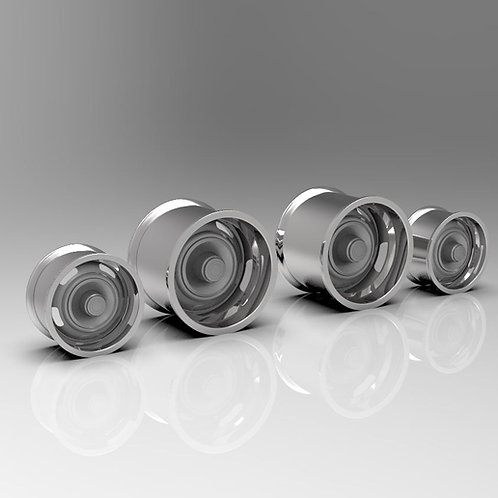 "1:18 ""Salt Flat""Wheels for Muscle Machine Cars"
