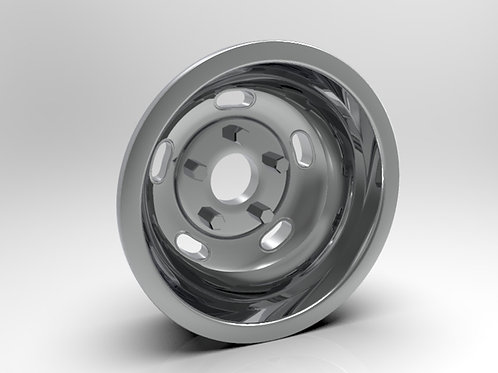 1:8 Rear Indy Kidney Bean Wheel
