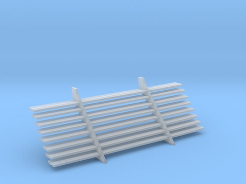 1:25 1962-1964 Chevy Impala rear blinds