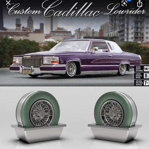 1:25 Cadillac Continental kit with wheel