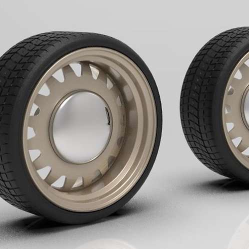 1:64 20 inch Steel Atillery with Low Profile Tires