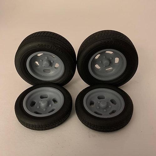 1:18 Ansen wheel and tire setup