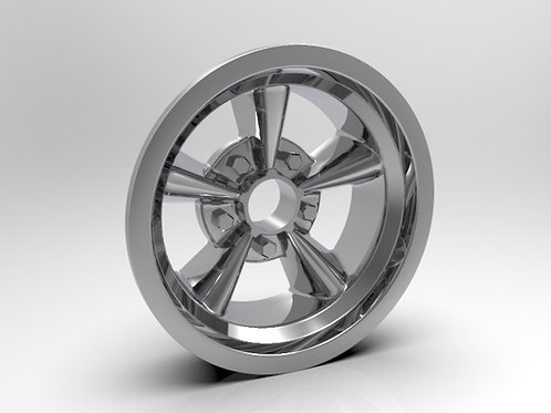 1:8 Front American Five Spoke Wheel