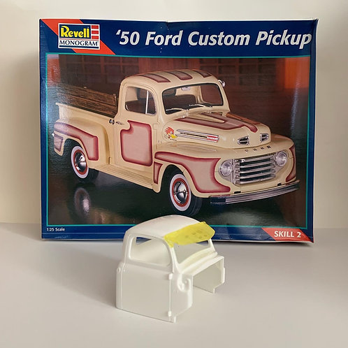 1:25 Visor for the Revell 50 Ford Custom Pickup