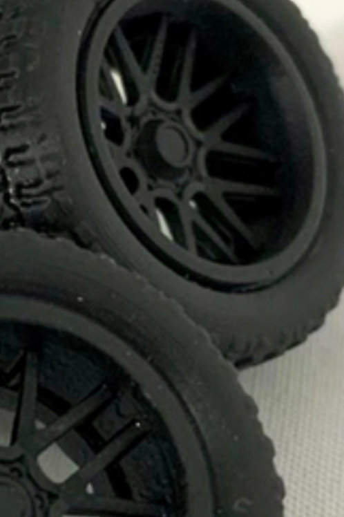 "1:25 20"" Concave"" Wheels and Tires"