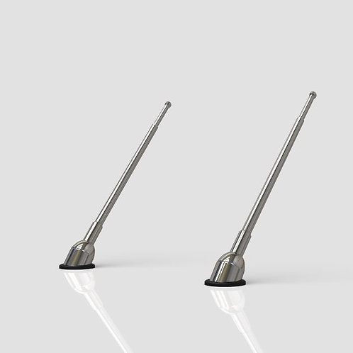 1:25 63-64 Impala rear antenna