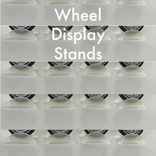 1:25 set of 8 Display Stands for Wheels