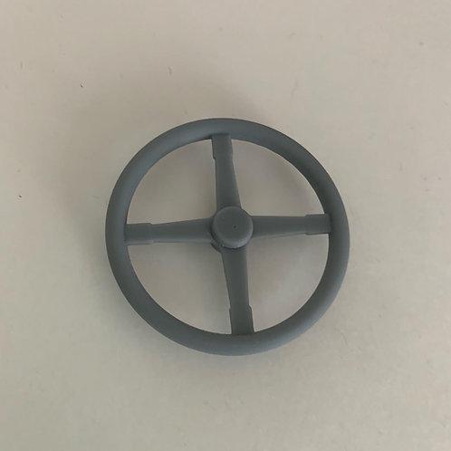 """1:24 17"""" Bell four spoke steering wheel"""