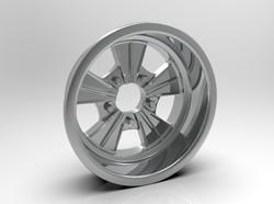 1-8 Rear Radir Style Five Spoke Wheel