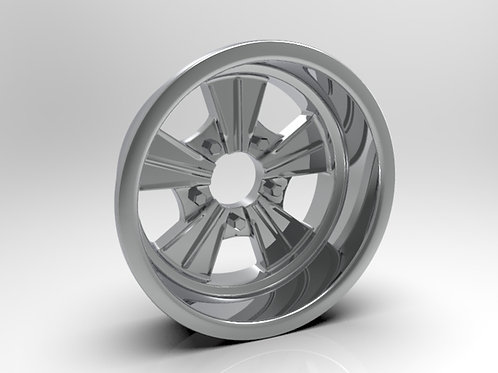 1:8 Rear Radir Style Five Spoke Wheel