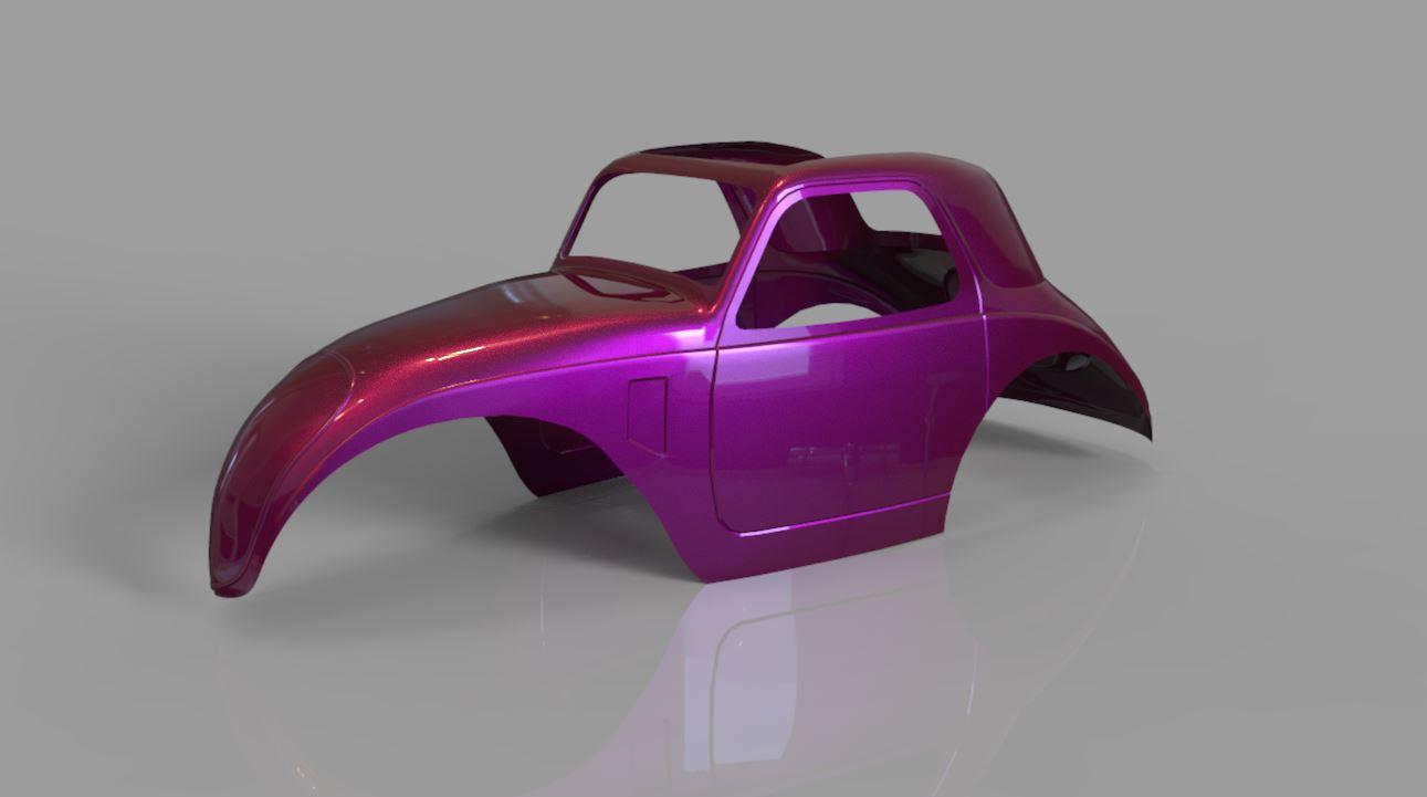 1:8 Fiat Topolino Body