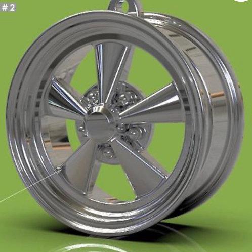 "Keychain ""Crager"" Style Wheel"